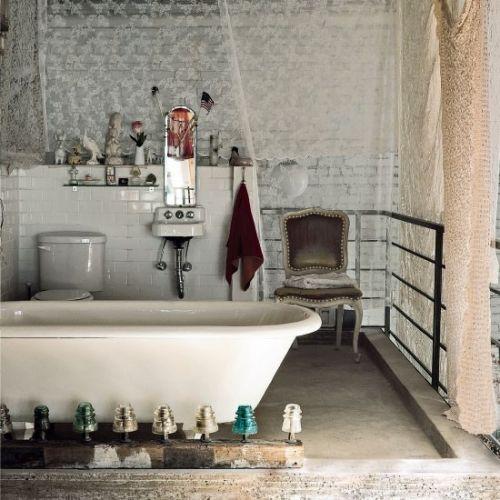 Креативная старинная квартира в стиле гранж / Дизайн интерьера / Архимир