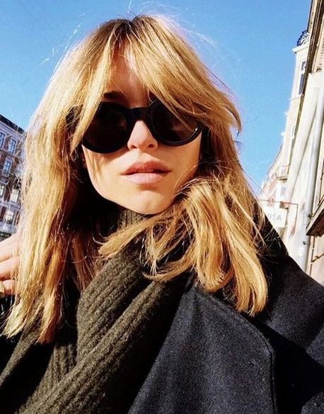 Let's all start by getting Alexa Chung's bangs.