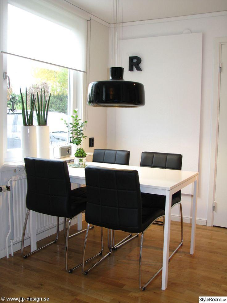 köksbord,läderimitation,mio,ikea,svart
