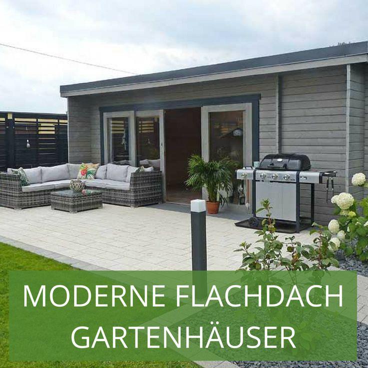 gartenhuser mit flachdach sind oft design huser die auch abseits der dachgestaltung besonders schicke - Fantastisch Moderne Gartenhuser