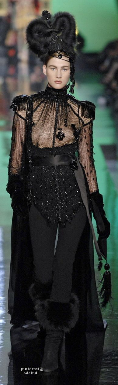 Jean Paul Gaultier Fall 2007 Couture