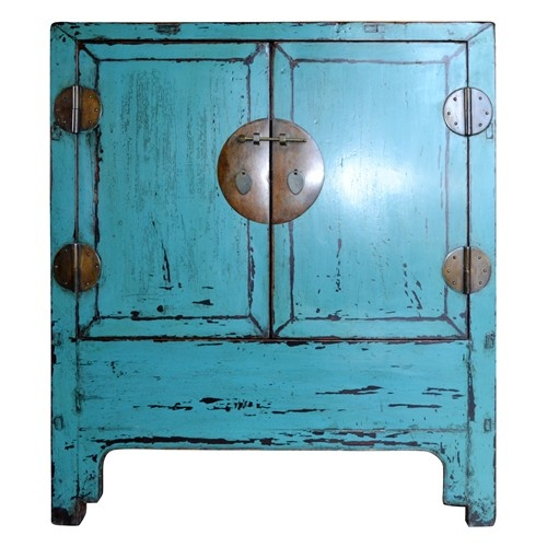 Vintage Chinese Chest fun color