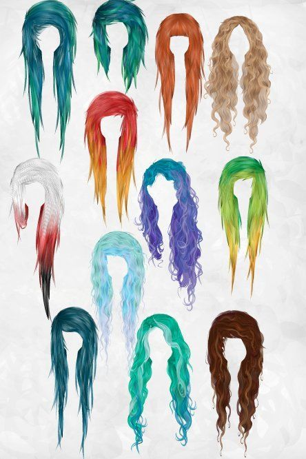 I really love all of these hairstyles!!