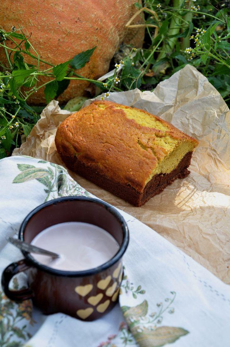 pumpkin & chocolate cake / ciasto dyniowo-czekoladowe