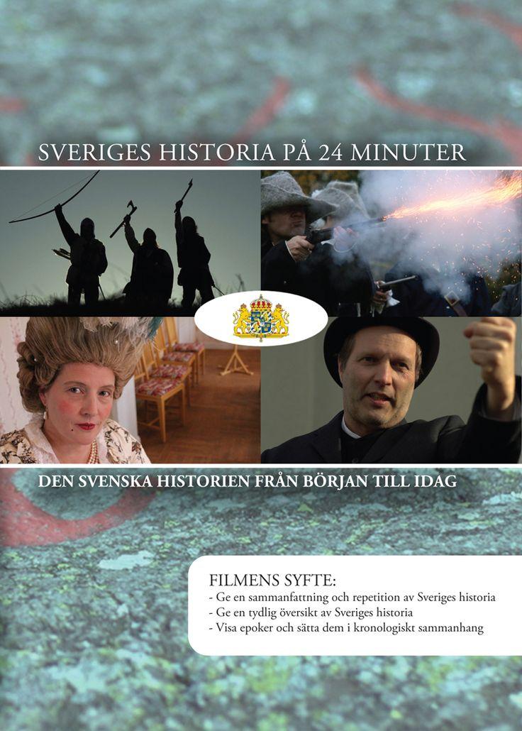 Sveriges historia på 24 minuter