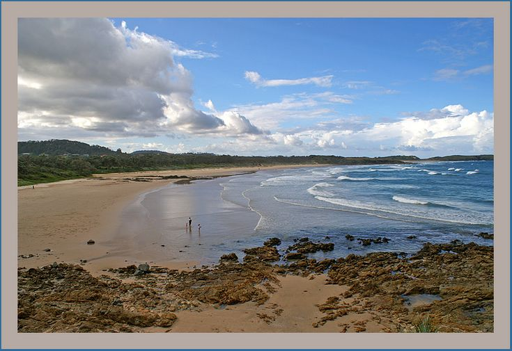 Moonee beach, north of Coff's Harbour, New South Wales_ East Australia