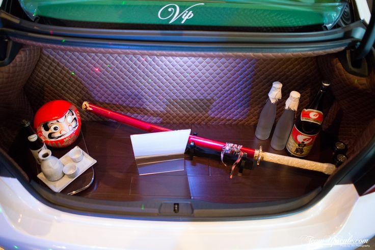 Vip Hardwood And Diamond Stitch Trunk Air Ride Setup
