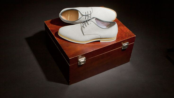 Can't get enough of the Peter Werth derby shoes.