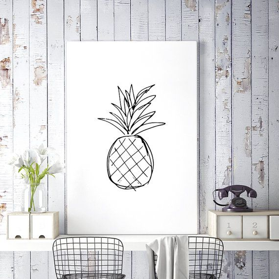 Best 25+ Pineapple Drawing Ideas On Pinterest