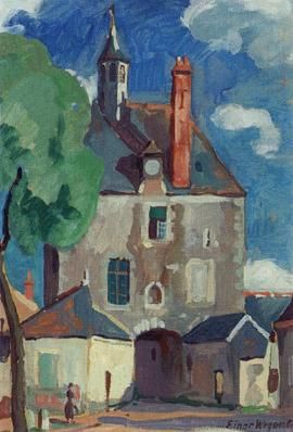 Meung sur Loire by Einar Wegener | Blouin Art Sales Index