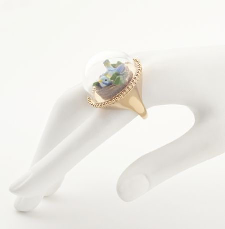 Curios Birds Nest Ring