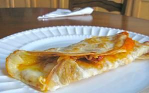 26 Healthy Brown Bag Lunch Ideas for Your Kids: Pizza Wrap Sandwiches