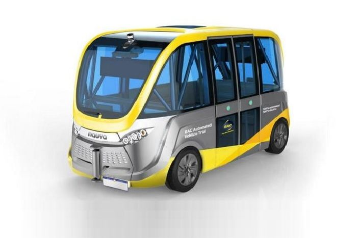 Initially, the trials will be conducted at the RAC's driving centre but eventually the shuttle will take to Perth roads, Transport Minister Dean Nalder said.