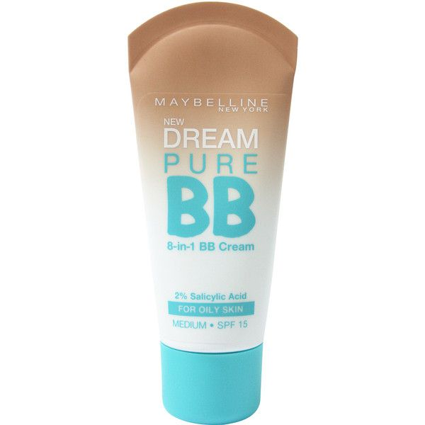 Maybelline New York Dream Pure BB ❤ liked on Polyvore featuring beauty products, makeup, face makeup, beauty, faces, fillers, cosmetics, maybelline face makeup, maybelline cosmetics and maybelline makeup