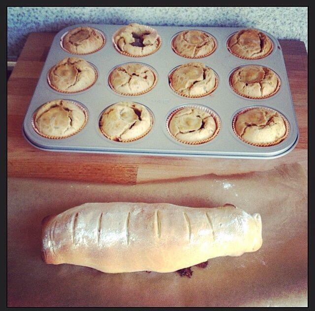 Hartige cupcake's en gehaktbrood!