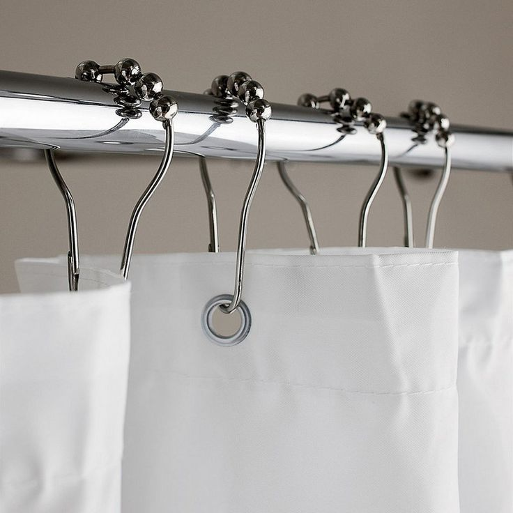 Roller Shower Curtain Hooks, Set Of 12   Letu0027s Roll. Our High Quality