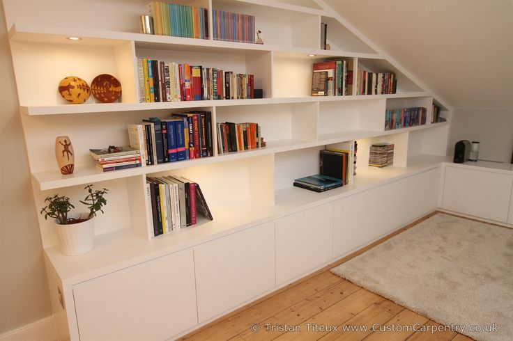 Fitted Bookcases - Bespoke bookcases that fit you like a glove.