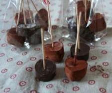 Thermomix: Trinkschokolade am Stiel