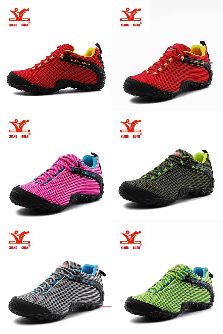 [Visit to Buy] XIANGGUAN Waterproof Hiking Shoes For Women Lover Climbing Woman Trekking Sport Sneakers Outdoor Walking zapatos de senderismo #Advertisement