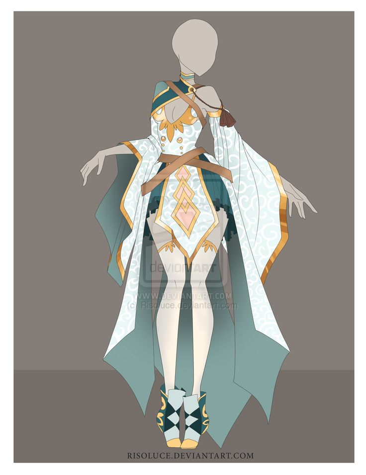 (CLOSED) Adoptable Outfit Auction - 7 by Risoluce.deviantart.com on @DeviantArt