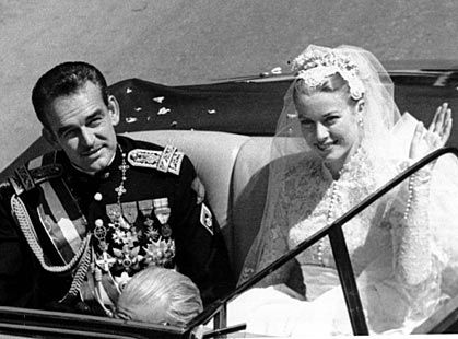 grace kelly and husband | Grace Kelly Ranier wedding