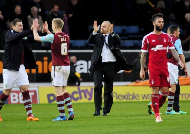 """""""No fear"""" is the mantra from Clarets boss Sean Dyche as Burnley continue to challenge for promotion to the Premier League."""
