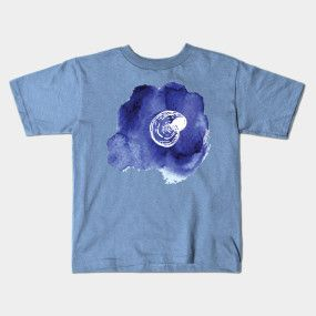 Seashell watercolors T-shirt