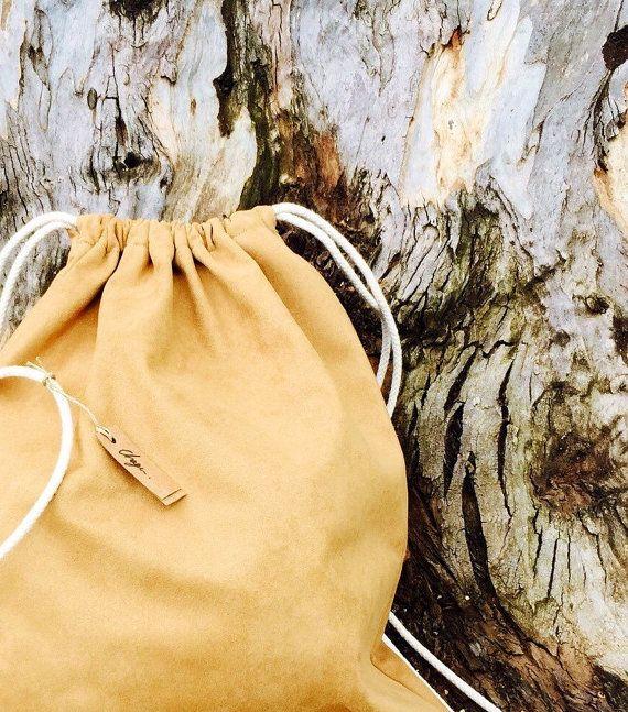 bag&Wallet set camel backpack camel bag Vegan camel by Homebag