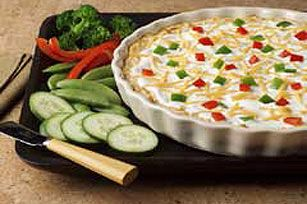 Fiesta Baked Cheese Dip recipe.    This is my favorite dip. Tastes like poppers, easy to make. Yummy!
