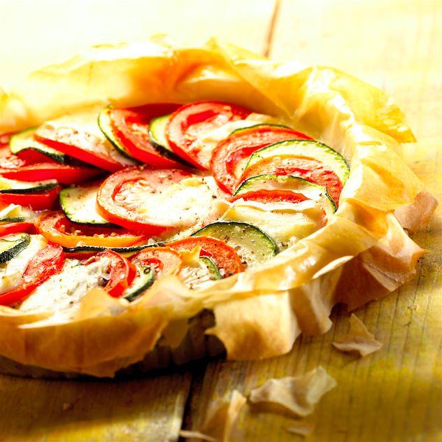 Benieuwd naar de snelste groentetaart uit 'Vegetarisch koken in 30 minuten'? Het recept lees je hier: www.wpg.be/dagenzondervlees33