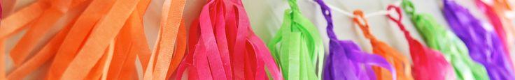 Cómo hacer guirnaldas para decorar un cumple