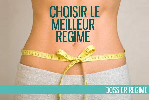 Comment choisir le meilleur régime pour maigrir à son rythme