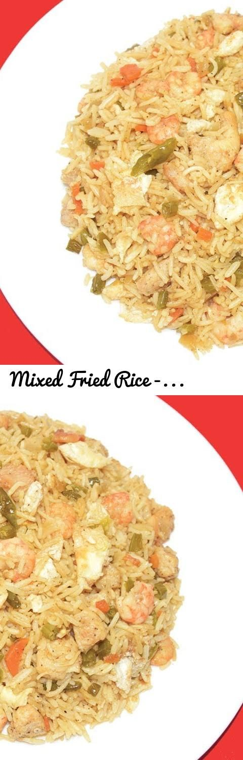 Mixed Fried Rice - Restaurant Style Chinese Chicken Fried Rice Recipe... Tags: Mixed Fried Rice, Restaurant Style Mixed Fried Rice Recipe, Chinese Fried Rice Recipe, Chicken Fried Rice Recipe, How to make chicken fried rice, recipe of chicken fried rice, Chicken Fried Rice making, Fried Rice Recipe, How to cook fried rice, Rice recipe ideas, non veg rice, Chinese chicken fried rice, Chinese recipes, Chinese Cuisine, easy fried rice, making of chicken fried rice, prawn fried rice, Chicken…
