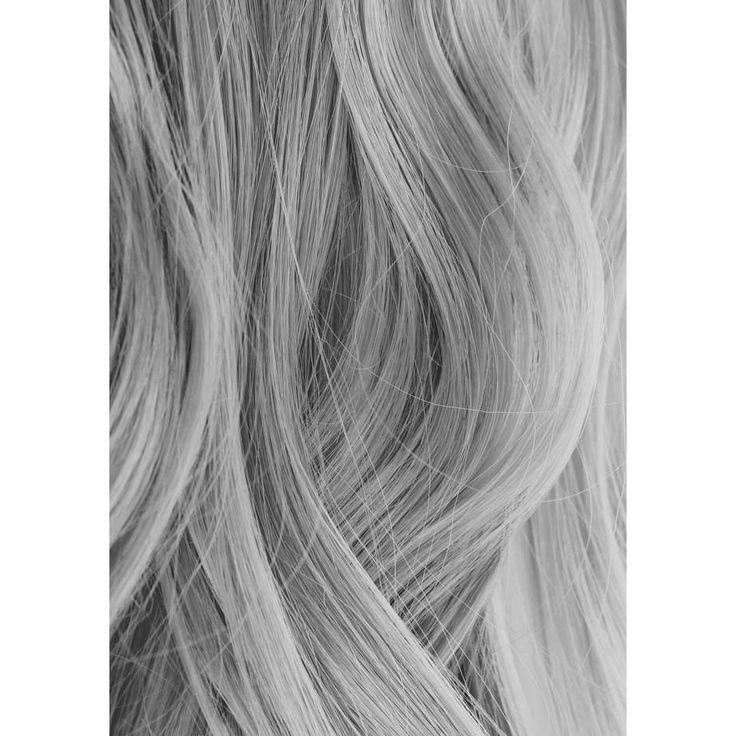 iroiro 130 Silver Premium Natural Semi Permanent Hair