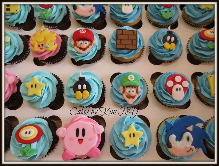 Nintendo Birthday Cake Ideas