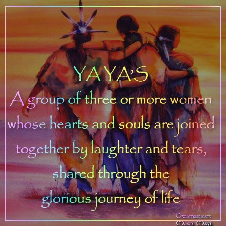 Girlfriends - YaYas - Sisterhood - Friends - Soul Sisters -  Joined together by laughter and tears.    https://www.facebook.com/#!/LivesLearning Twitter: @sapelskog http://lifeslearning.org