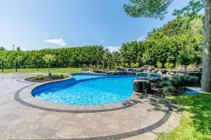 Custom Inground pool in Midhurst