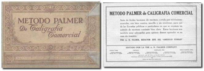 Libro de Caligrafía *Palmer*