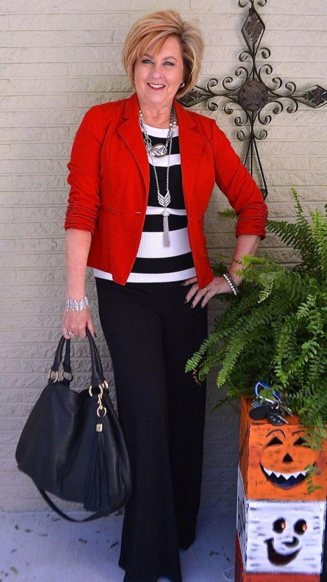 23 Best Casual Work Outfits for Women Over 50 #wor…