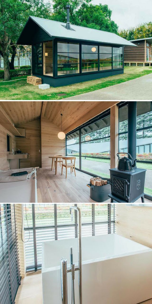 The Wood Hut: a tiny house that will be available for sale from Japanese  retailer
