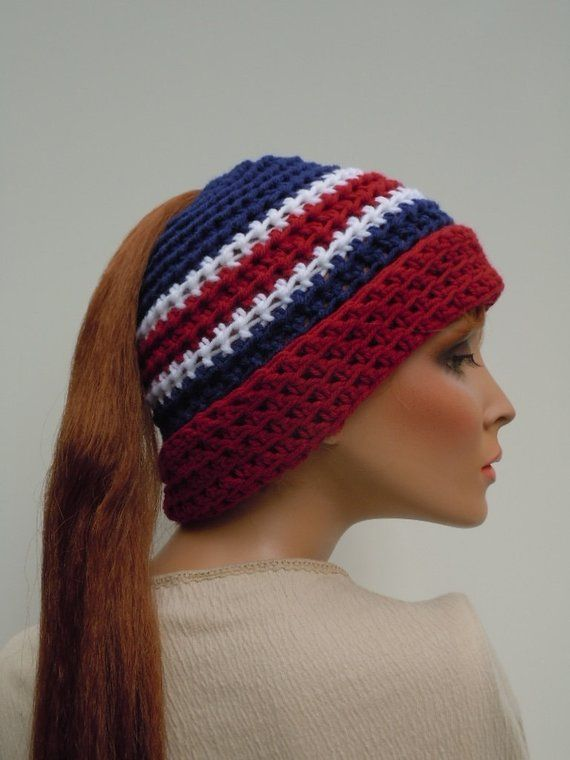 a14e7367b2477 Ponytail Hat