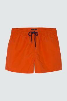 Bañador midi Punto Blanco naranja