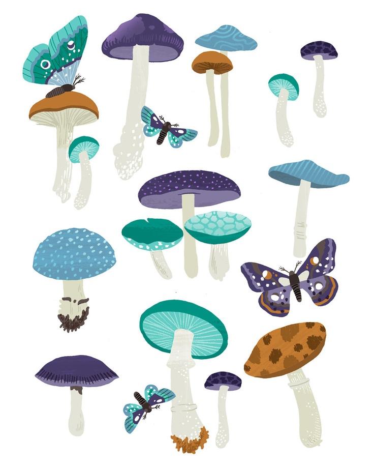 Mushroom via Etsy.