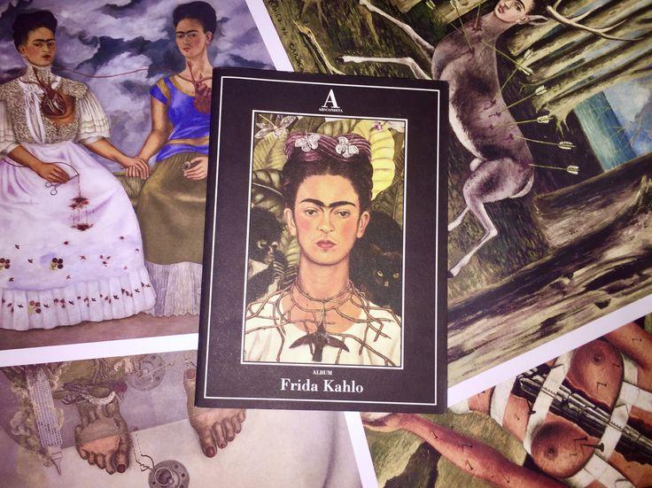 Una delle biografie di Frida che adoro di più. È fotografica, è speciale.