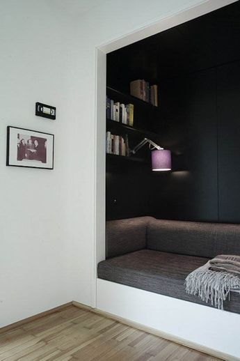 http://www.onekindesign.com/2014/03/28/65-wonderfully-cozy-reading-nooks-book-lovers/ 65 Wonderfully cozy reading nooks for book lovers