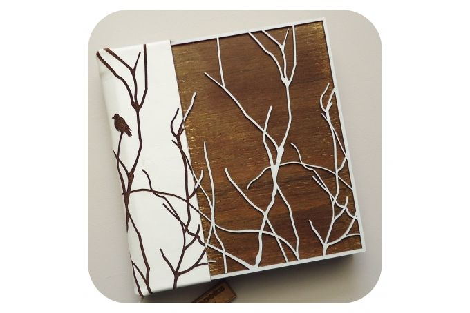 """Branched Out"" Journal (Small) by LANDI KUHN Functional Art & Design"