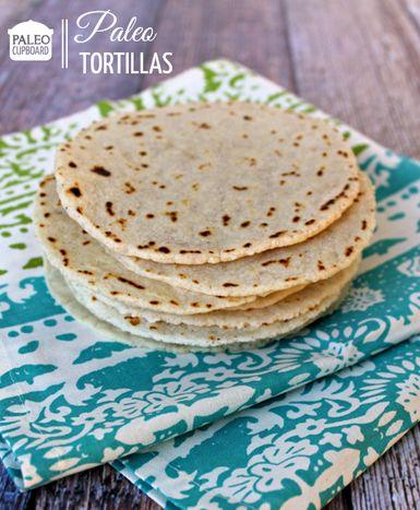 Paleo Tortilla Recipe - paleocupboard.com