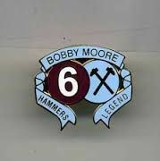 Bobby Moore - Hammers legend badge