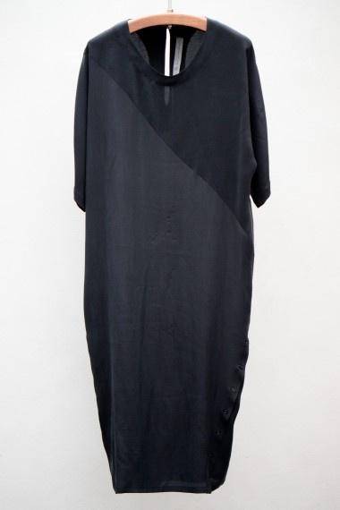 Raquel Allegra > Silk Miter Dress