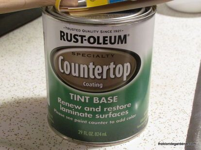 how to paint a formica countertop, bathroom ideas, countertops, how to, painting